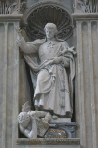 Statue of Montfort, St. Peter's, Rome