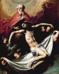 La Trinidad by José de Ribera, 1635 [Museo del Prado, Madrid]