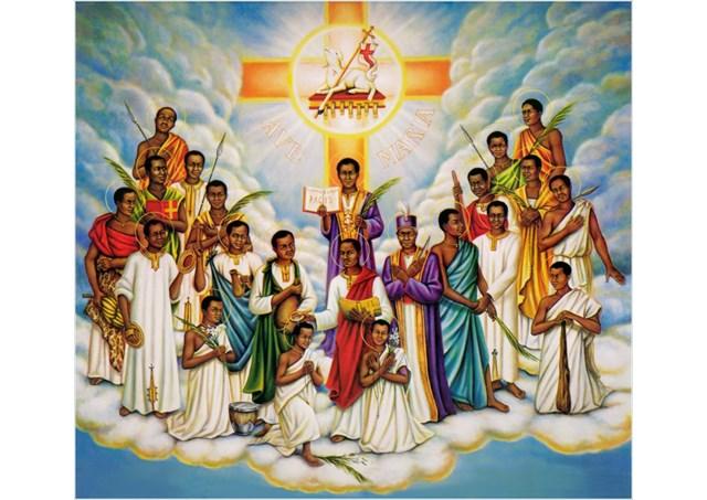 Resultado de imagen de LA IGLESIA CATÓLICA EN UGANDA.