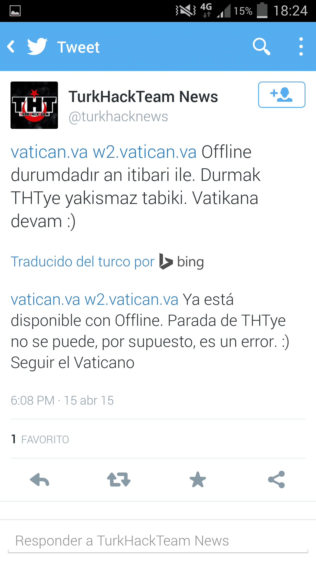 Hackers turcos atacan la web del vaticano infovaticana for Del website