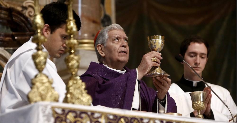 Papa acepta renuncia del cardenal Urosa y nombra administrador