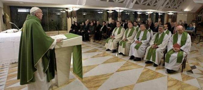 El Papa no dijo que ser ateo es mejor que ser un católico hipócrita