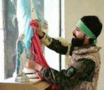 La emotiva escena de un soldado y la Virgen en la liberación de Qaraqosh