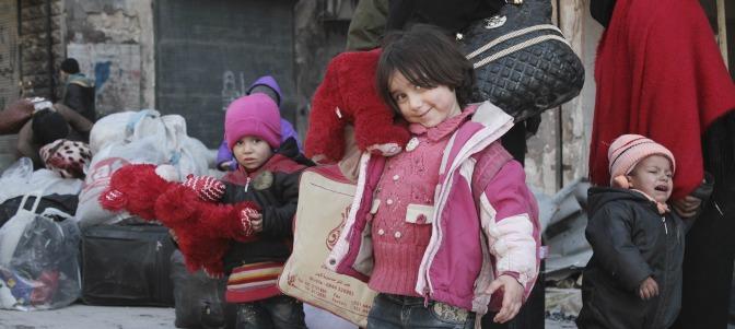 La incansable labor de la Iglesia Católica en la guerra de Siria