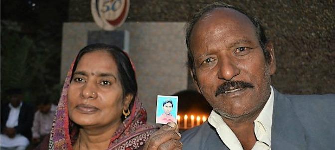 'Mi hijo dio su vida para salvar a cientos de personas que estaban en Misa'