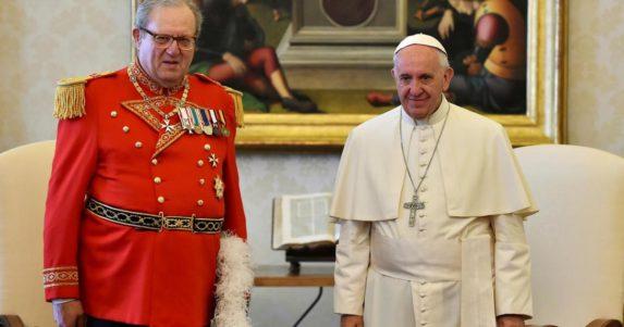 EXCLUSIVA: Dimite el Gran Maestre de la Orden de Malta a petición del Papa