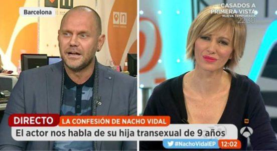 """Nacho Vidal, tras contaminar a miles de adolescentes con su pornografía, expone ahora el caso de su propia hija """"transexual"""""""