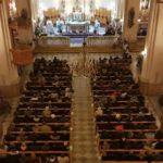 El Nuncio Apostólico de Siria visita a la comunidad de Alepo