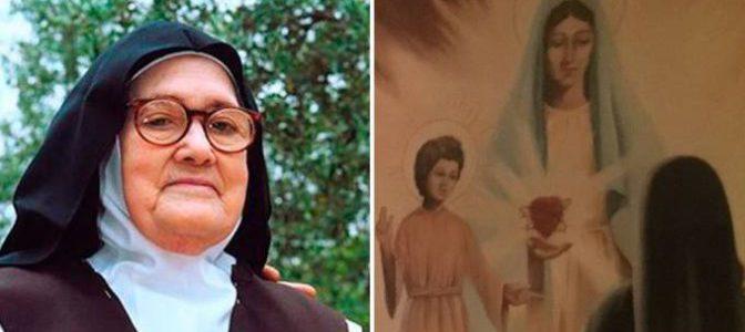 Sor Lucía de Fátima fue testigo de apariciones de la Virgen y el Niño Jesús en España