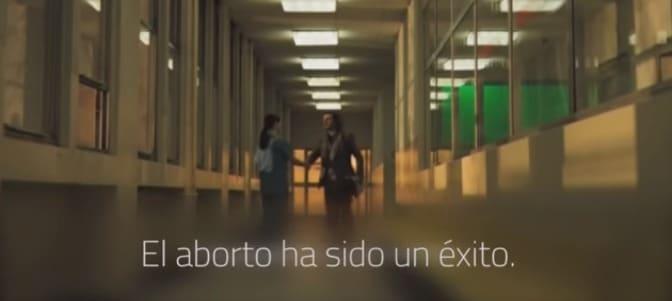 'Enhorabuena, acaba de terminar con la vida de un niño': impactante vídeo contra el aborto