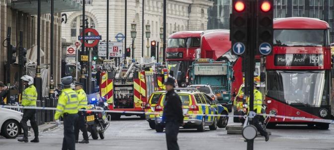 Ataque islamista en Londres: tres muertos y veintinueve heridos