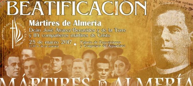 Beatifican a 115 mártires de la persecución religiosa en Almería