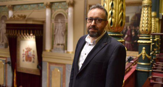 """Girauta: """"Si ser católico en España es llevar la chapa del PP, entonces habrá que pensárselo dos veces"""""""