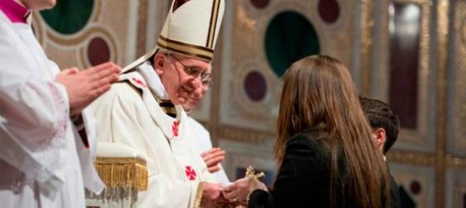 Hoy se cumplen cuatro años desde que el Papa Francisco tomó posesión como Obispo de Roma