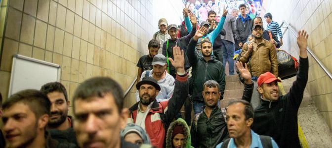 Los judíos denuncian el 'antisemitismo' de los refugiados musulmanes en Alemania