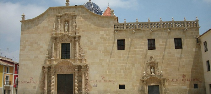 Profanan el Monasterio de la Santa Faz en Alicante