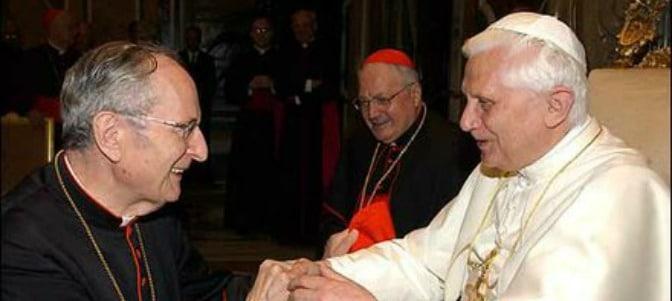 Benedicto XVI ensalza los últimos días de Meisner, cuando planteó y publicó los dubia