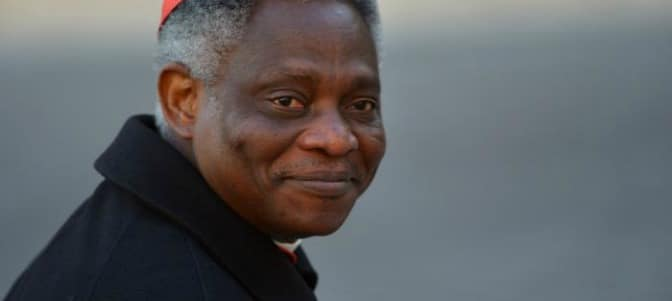 El cardenal africano Peter Turkson insta a Europa a 'cerrar el grifo' de la inmigración