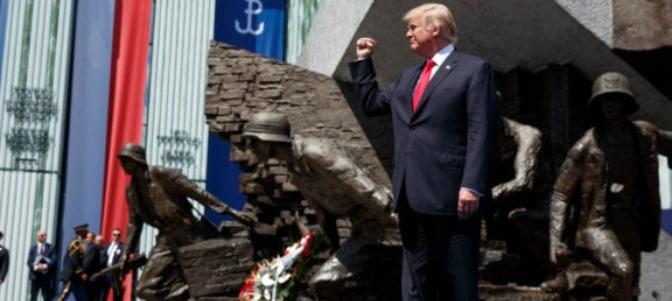 Histórico discurso de Trump en Polonia: 'Ponemos la fe y la familia, no el gobierno y la burocracia, en el centro'