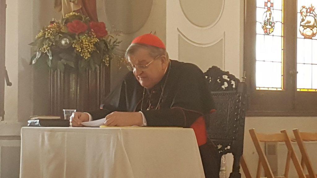 Vídeo de las intervenciones del Cardenal Burke en el 'I Encuentro InfoVaticana'