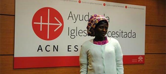 Rebeca, superviviente de Boko Haram: 'He perdonado a los terroristas'