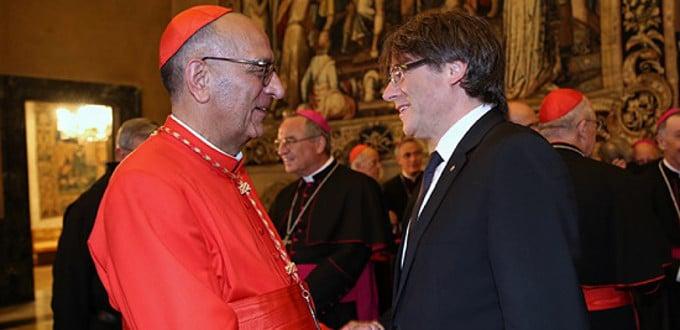 Rajoy reúne a los cardenales Osoro y Omella en Moncloa