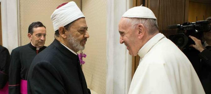 El Papa y el Gran Imán de al Azhar se encuentran en el Vaticano por tercera vez