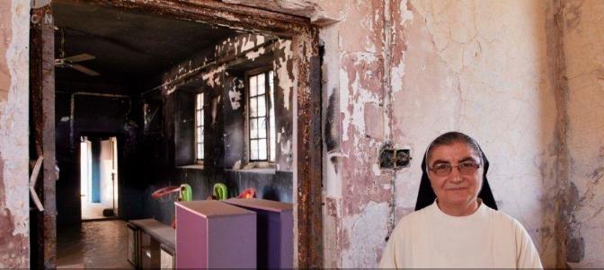 Las Dominicas de Teleskuf reconstruyen su convento para acoger a niños desplazados