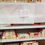 El supermercado del Vaticano respeta el miércoles de ceniza