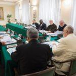 Finaliza la reunión del Papa con el Consejo de Cardenales