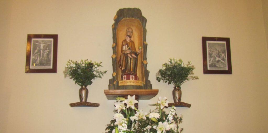 La Virgen de Valvanera tiene ya su lugar en el corazón de Madrid