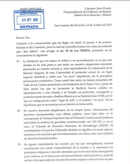 Profanación de la tumba de Franco y manipulación de la Historia - Página 2 Valle-1