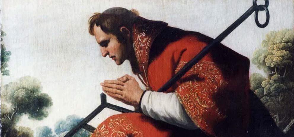 San Lorenzo, cuadro de Francisco de Zurbarán