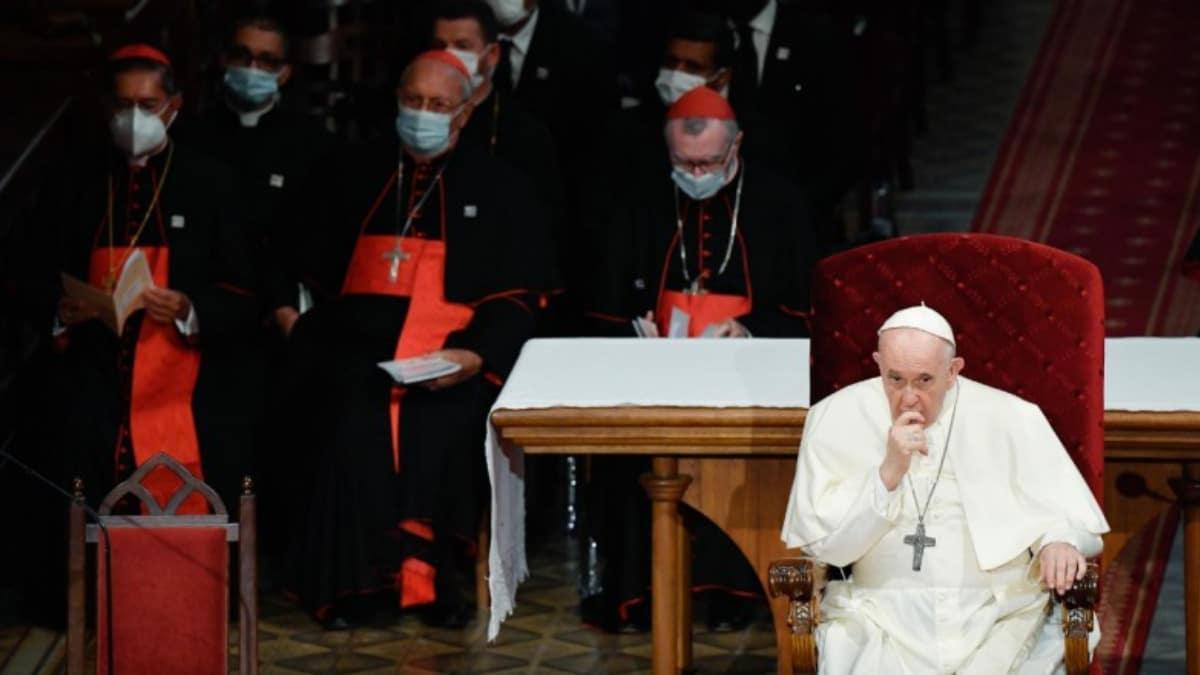 Papa Francisco Obispos eslovacos