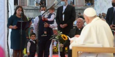 Papa Francisco gitanos Eslovaquia