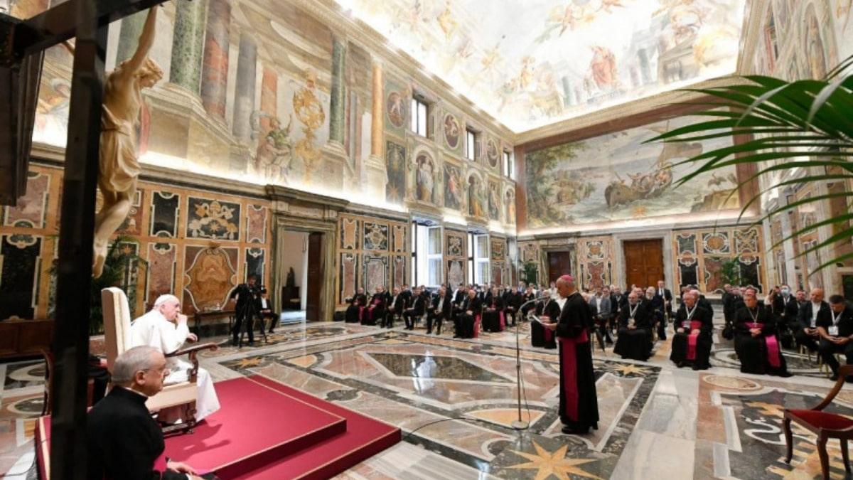 Papa Francisco catequistas