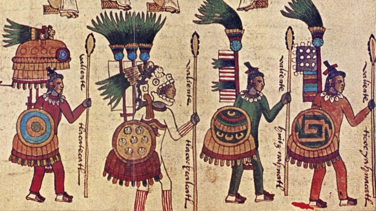 California oraciones aztecas