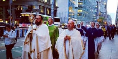 procesión Nueva York