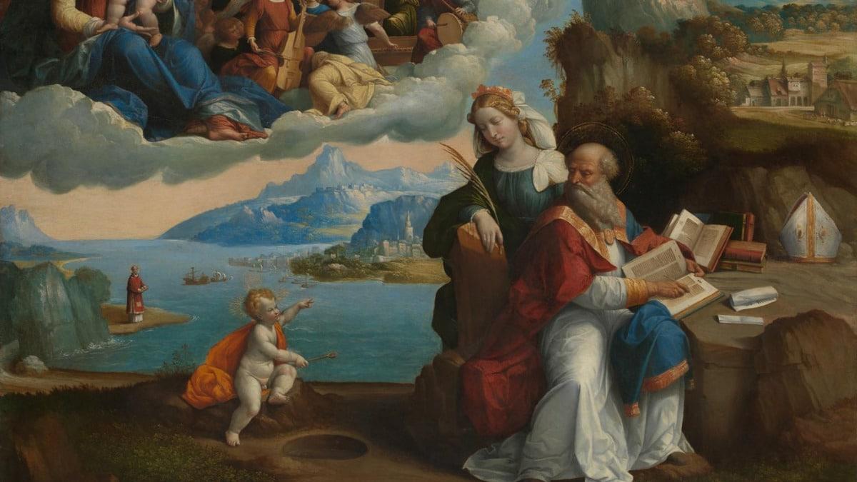 San Agustín Benedicto XVI obras